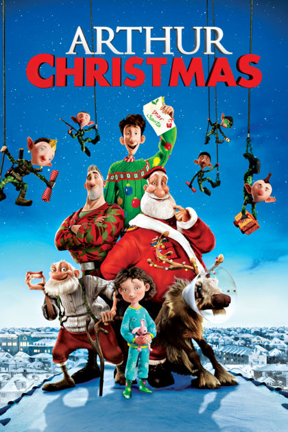 Arthur Christmas movie image and cover - Holiday Movies on Netflix