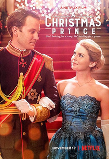 A Christmas Prince movie cover - Holiday Movies on Netflix
