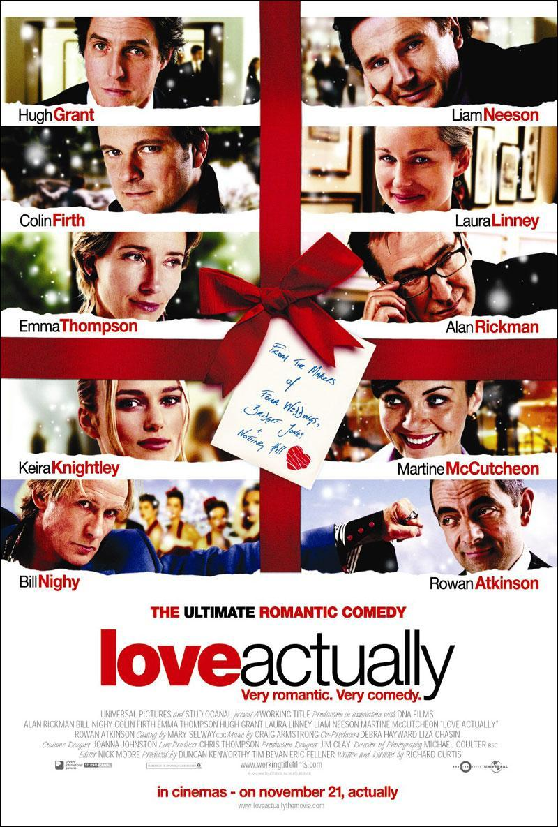 Love Actually movie cover - Holiday Movies on Netflix